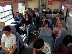 Zugfahrt nach Weimar