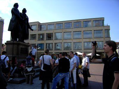 bei Goethe und Schiller in Weimar