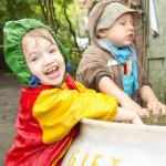 Sommerfest im Stadtgarten (mit Sturzregen)