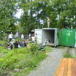 Ein Gartenhaus entsteht