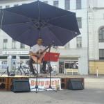 Davit Drambyan auf der Mobilbühne