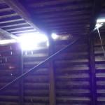Vorderhaus: Dachstuhl