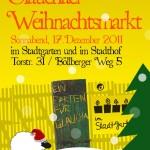 Vorderseite Flyer Weihnachtsmarkt 2011