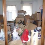 die Kisten sind gepackt, das Chaos ist perfekt